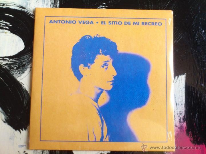 ANTONIO VEGA - EL SITIO DE MI RECREO - CD SINGLE - PROMO - POLYGRAM - PASION CIA - 1992 - NACHA POP (Música - CD's Pop)