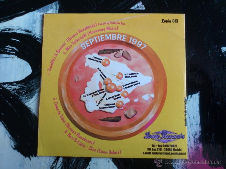 CDs de Música: HUEVOS RANCHEROS - TROUBLE´S A-BREWIN´ - CD SINGLE - PROMO - 4 TRACKS - LOUI RECORDS - 1997 - Foto 2 - 54002373