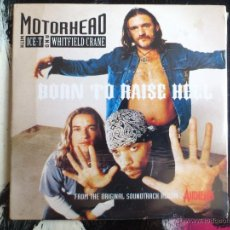 CDs de Música: MOTORHEAD - ICE-T - WHITFIELD CRANE - BORN TO RISE HELL - CD SINGLE - PROMO - AIRHEADS - BMG - 1994. Lote 54002859