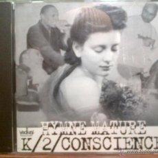 CDs de Música: K/2/ CONSCIENCE - HYMME NATURE (1998) - ¡MUY RARO! - RAP FRANCÉS - DESCATALOGADO. Lote 54003933
