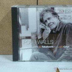 CDs de Música: JOHN CAGE - FOUR WALLS. AKI TAKAHASHI PLAYS JOHN CAGE - CAMERATA CM-28027 - 2004. Lote 54005931