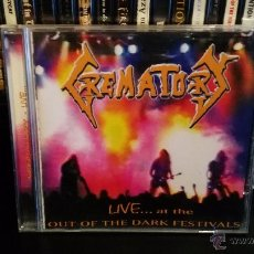 CDs de Música: CREMATORY - LIVE... AT THE OUT OF THE DARK FESTIVALS. Lote 54008038