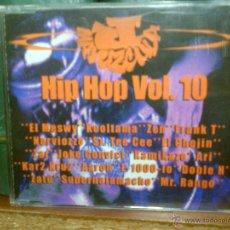 CDs de Música: JOTA MAYUZCULA - HIP HOP VOL. 10 (1998) MIXTAPE - ¡MUY BUSCADO! - EDICIÓN LIMITADA. Lote 54010042