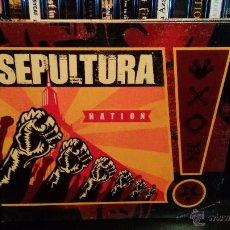 CDs de Música: SEPULTURA - NATION. Lote 54011126