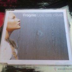 CDs de Música: FRAGMA - YOU ARE ALIVE - CD SINGLE - PROMO - 6 TRACKS - EDEL - 2001. Lote 54015923