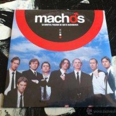 CDs de Música: MACHOS - LA BRUTAL PASIÓN DE SIETE HERMANOS - CD SINGLE - PROMO - WARNER - 2004. Lote 54027094
