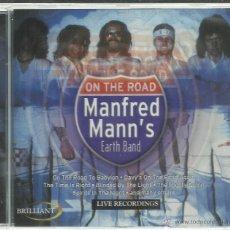 CDs de Música: MANFRED MANN'S EARTH BAND - ON THE ROAD - LIVE BOSTON 1977 - CD BRILLIANT NUEVO. Lote 54028568