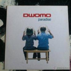 CDs de Música: DWOMO - PARADISE - CD SINGLE - PROMO - 6 TRACKS - DRO - 2005. Lote 54033033