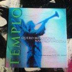 CDs de Música: TEMPLO - QUERO MERGULHAR NAS PROFUNDEZAS - CD SINGLE - PROMO - EMI - 1999. Lote 54037106