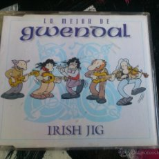 CDs de Música: GWENDAL - IRISH JIG - CD SINGLE - PROMO - 4 TRACKS - EMI - 1997. Lote 54037278