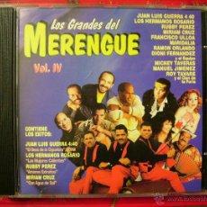 CDs de Música: LOS GRANDES DEL MERENGUE VOL 4.VV.AA........PEDIDO MINIMO 5€. Lote 54038211