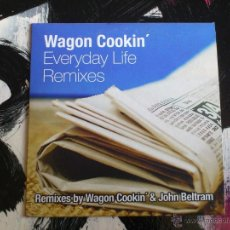 CDs de Música: WAGON COOKIN´ - EVERYDAY LIFE REMIXES - CD SINGLE - PROMO - 2 TRACKS - DRO - 2004 - JOHN BELTRAM. Lote 54040839