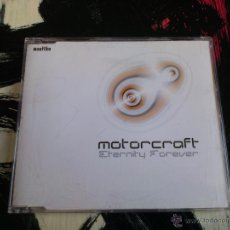 CDs de Música: MOTORCRAFT - ETERNITY FOREVER - CD SINGLE - PROMO - 3 TRACKS - MOSKITO - 2001. Lote 54041592
