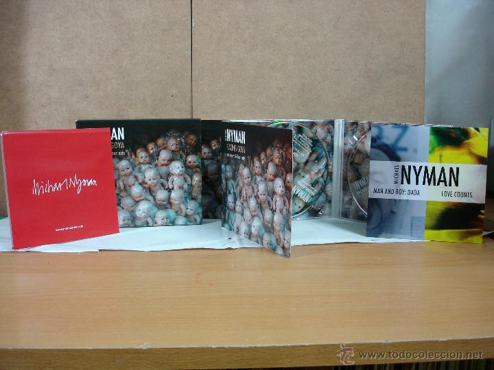 MICHAEL NYMAN - FACING GOYA. AN OPERA IN FOUR ACTS - MN MUSIC MNRCD121/122 - 2011 - 2+1XCD (Música - CD's New age)