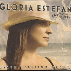 CDs de Música: GLORIA ESTEFAN. 90 MILLAS DE LUXE EDITION CD + DVD. Lote 54045463