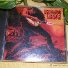 CDs de Música: CD LEIZE DEVORANDO LAS CALLES PRIMERA EDICIÓN CON ERROR TIPOGRAFICO DE IMPRENTA (DEBORANDO). Lote 107359703