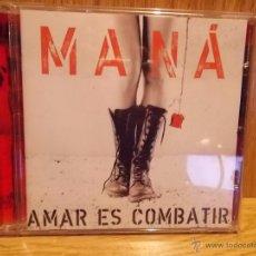 CDs de Música: MANÁ. AMAR ES COMBATIR. CD / WARNER MUSIC-MÉXICO - 2006. 12 TEMAS / CALIDAD LUJO.. Lote 54076231