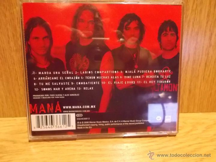 CDs de Música: MANÁ. AMAR ES COMBATIR. CD / WARNER MUSIC-MÉXICO - 2006. 12 TEMAS / CALIDAD LUJO. - Foto 3 - 54076231
