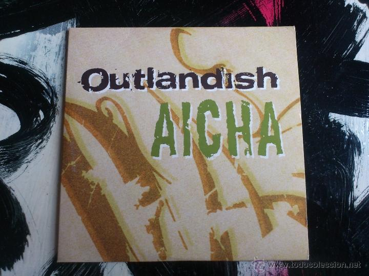 OUTLANDISH - AICHA - CD SINGLE - PROMO - BMG - 2003 (Música - CD's Hip hop)