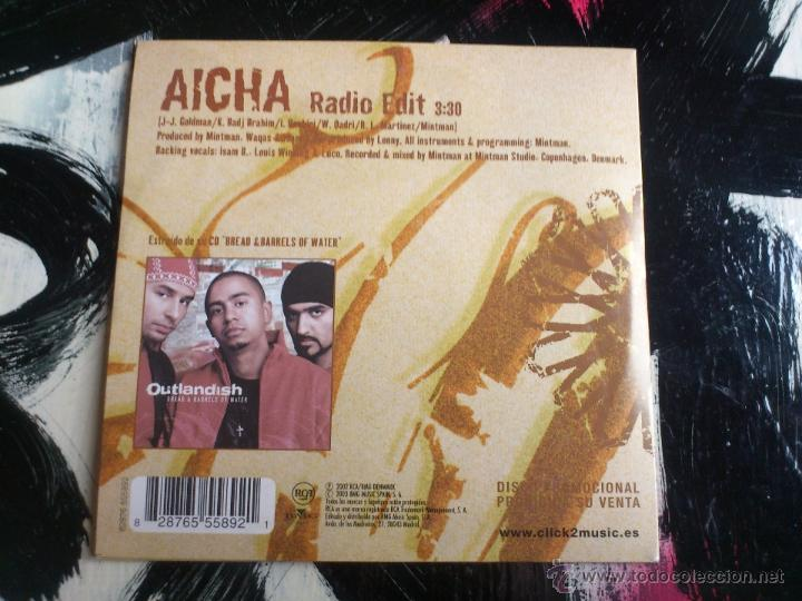 CDs de Música: OUTLANDISH - AICHA - CD SINGLE - PROMO - BMG - 2003 - Foto 2 - 54084203