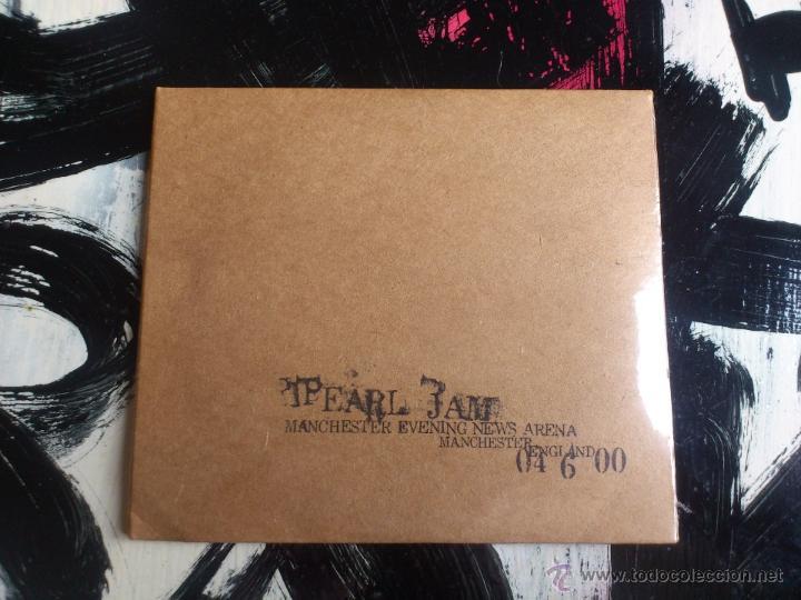PEARL JAM - MANCHESTER EVENING NEWS - DOBLE CD ALBUM - ARENA - ENGLAND - 04 6 00 (Música - CD's Rock)