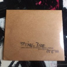 CDs de Música: PEARL JAM - MANCHESTER EVENING NEWS - DOBLE CD ALBUM - ARENA - ENGLAND - 04 6 00. Lote 54086789