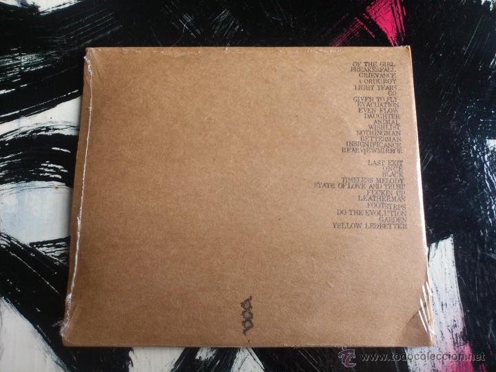 CDs de Música: PEARL JAM - MANCHESTER EVENING NEWS - DOBLE CD ALBUM - ARENA - ENGLAND - 04 6 00 - Foto 2 - 54086789