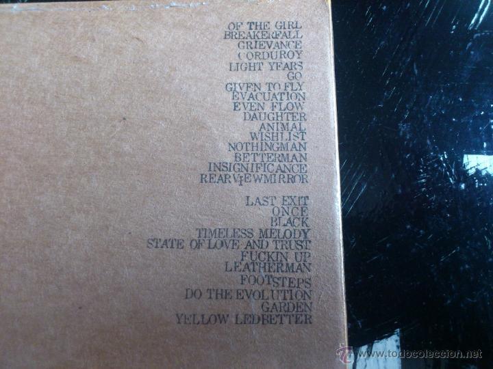 CDs de Música: PEARL JAM - MANCHESTER EVENING NEWS - DOBLE CD ALBUM - ARENA - ENGLAND - 04 6 00 - Foto 3 - 54086789