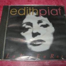 CDs de Música: EDITH PIAF - LA VIE EN ROSE. Lote 54107965