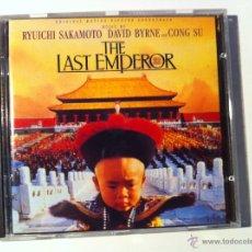 CDs de Música: CD BSO THE LAST EMPEROR (EL ULTIMO EMPERADOR) - RYUICHI SAKAMOTO, DAVID BYRNE, CONG SU. Lote 54115067