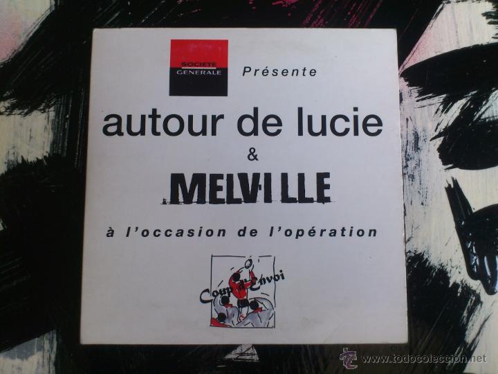 AUTOUR DE LUCIE & MELVILLE - Á L´OCCASION DE L´OPERATION - CD SINGLE - PROMO - 4 TRACKS - SONY -1997 (Música - CD's Rock)