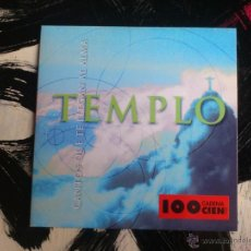 CDs de Música: TEMPLO - CANTOS QUE TE LLEGAN AL ALMA - CD SINGLE - PROMO - 2 TRACKS - EMI - 1999. Lote 54125498