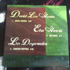 CDs de Música: DAVID LEE GARZA - ELSA GARCIA - LOS DESPERADOS - CD SINGLE - PROMO - 3 TRACKS - EMI - 1997. Lote 54130311