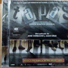 CDs de Música: TAPAS BANDA SONORA ORIGINAL 2XCD PELICULA DE JOSE CORBACHO Y JUAN CRUZ PRECINTADO. Lote 54135311