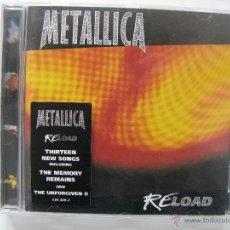 CDs de Música: METALLICA - RELOAD . Lote 54144874