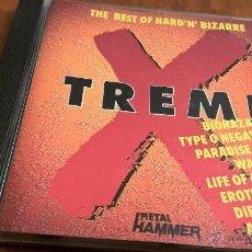 CDs de Música: TREME-THE BEST OF HARD N BIZARRE-CD-METAL HAMMER-16 TEMAS-2186 677. Lote 54161833