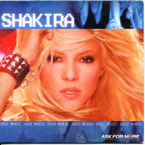 SHAKIRA / KNOCK ON MY DOOR + PIDEME EL SOL (EN ESPAÑOL) + 3 VIDEO CLIPS (PROMOCIONAL PEPSI COLA 2002 (Música - CD's Latina)