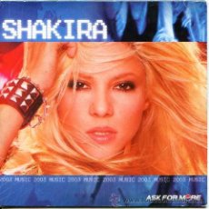 CDs de Música: SHAKIRA / KNOCK ON MY DOOR + PIDEME EL SOL (EN ESPAÑOL) + 3 VIDEO CLIPS (PROMOCIONAL PEPSI COLA 2002. Lote 54178460