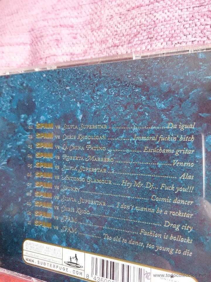 CDs de Música: Spam – Hey Mr. Dj..., Fuck You!!! CD - Foto 2 - 54179008