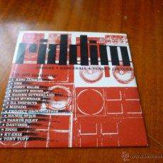 CD de Música: RIDDIM-REGGAE-CD-07 - 15 TEMAS- N. Lote 54218554