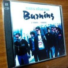 CDs de Música: C.D. DOBLE CINCO AÑOS CON BURNING 1985-1989. Lote 54228391