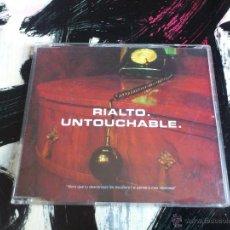 CDs de Música: RIALTO - UNTOUCHABLE - CD SINGLE - PROMO - 3 TRACKS - WARNER - 1997. Lote 54238721