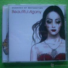 CDs de Música: BEAUTIFUL AGONY DEGREES OF SEPARATION CD ALBUM HEAVY 2015 VER VIDEO. Lote 54238838