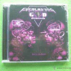 CDs de Música: EVERLASTING GOD STOPPER - DEVIL IN THE DETAILS CD ALBUM (2015) HEAVY METAL THRASH METAL PEPETO. Lote 54240393