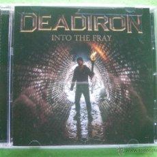 CDs de Música: DEADIRON INTO THE FRAY CD ALBUM MADE IN USA 2015 HEAVY VER VIDEO PEPETO. Lote 54240771