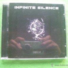 CDs de Música: INFINITE SILENCE LANDSCAPE CD ALBUM HEAVY VER VIDEO PEPETO. Lote 54242295
