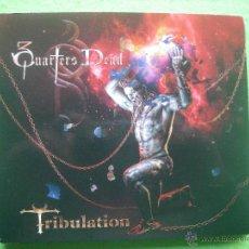 CDs de Música: 3 QUARTERS DEAD TRIBULATION CD ALBUM HEAVY VER VIDEO PEPETO. Lote 54242664