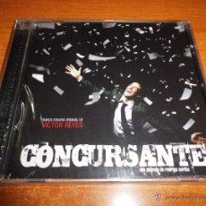 CDs de Música: CONCURSANTE BANDA SONORA CD ALBUM PRECINTADO 2007 MUSICA DE VICTOR REYES 27 TEMAS. Lote 296558353