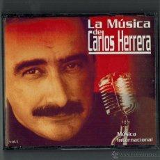 CDs de Música: TRES CDS - LA MUSICA DE CARLOS HERRERA-. Lote 54253095