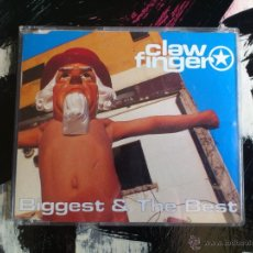 CDs de Música: CLAWFINGER - BIGGEST & THE BEST - CD SINGLE - 4 TRACKS - WARNER - 1997. Lote 54254132
